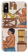 Egyptian Scribes IPhone Case