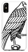 Egyptian Symbol: Falcon IPhone Case