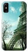 Eifell Tower View From Taxi II. IPhone Case