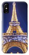 Eiffel Tower At Dusk. IPhone Case