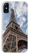 Eiffel Tower In Paris IPhone Case