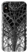 Eiffel Tower Leg IPhone Case