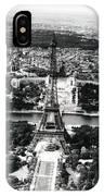Eiffel Tower Paris In Wwii IPhone Case
