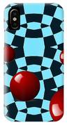 Eight Red Balls IPhone Case