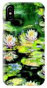 Eight #waterlilies IPhone Case