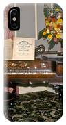 Eighteenth Century Piano And Parlor IPhone Case