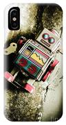 Eighties Cybernetic Droid  IPhone Case