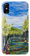 El Camino - Primavera - The Path - Spring IPhone Case