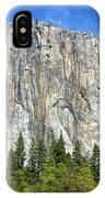 El Capitan In Yosemite National Park IPhone Case