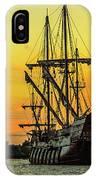 El Galeon Andalucia 4 IPhone Case