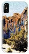 El Morro Cliffs IPhone Case