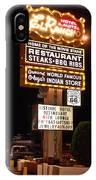 El Rancho Hotel, Nm IPhone Case