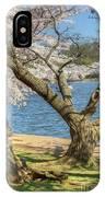 Elder Cherry Tree IPhone Case