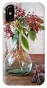 Elderberries 07 IPhone Case