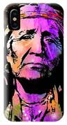 Elderly Hupa Woman IPhone Case