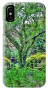 Elderly Man At St. Luke's Garden IPhone Case