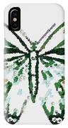 Election 2020 Presidential Candidate Catherien Lott Usa Green Butterfly IPhone Case