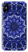 Electric Blue Mandala IPhone Case