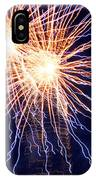 Electric Lights IPhone X Case