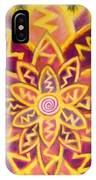 Electric Lotus IPhone Case