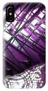 Electric Violet Fish IPhone Case