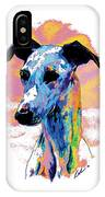 Electric Whippet IPhone Case