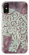 Elephant - Animal Series IPhone Case