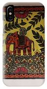 Elephant In The Jungle IPhone Case