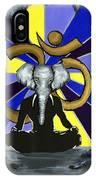 Elephant Man  IPhone Case
