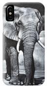 Elephant Night Walker IPhone Case