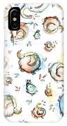 Elephant Pattern Watercolor IPhone Case