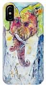 Elephants In Love IPhone Case