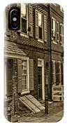 Elfreths Alley IPhone Case