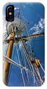 Elizabeth II Mast Rigging IPhone Case