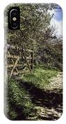 Eliza's Walk In The Countryside. IPhone Case