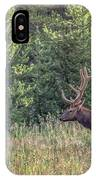 Elk In The Forest IPhone Case