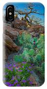 Elk Mountain Flowers IPhone Case