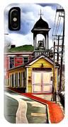 Ellicott City Fire Museum IPhone Case