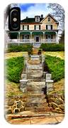Ellicott City House IPhone Case