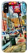Ellicott City Street IPhone Case
