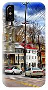 Ellicott City Streets IPhone Case