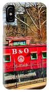 Ellicott City Train And Factory IPhone Case