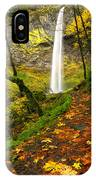 Elowah Autumn Trail IPhone Case