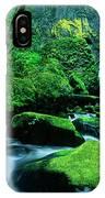 Elowah Falls 3 Columbia River Gorge National Scenic Area Oregon IPhone Case