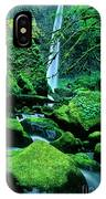 Elowah Falls 4 Columbia River Gorge National Scenic Area Oregon IPhone Case