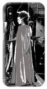 Elsa Lanchester Bride Of Frankenstein 4 1935-2015 IPhone Case