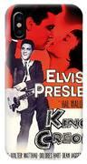 Elvis Presley In King Creole 1958 IPhone Case