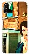 Elvis Presley The King At Sun Studio Memphis Tennessee 20160216 Square IPhone Case