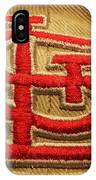 Embroidered Stl IPhone Case