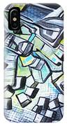 Emerald Chasms IPhone Case